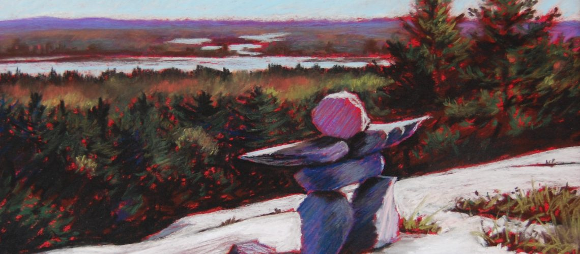 La Cloche Welcome    Pastel   9.25X13.25 inches