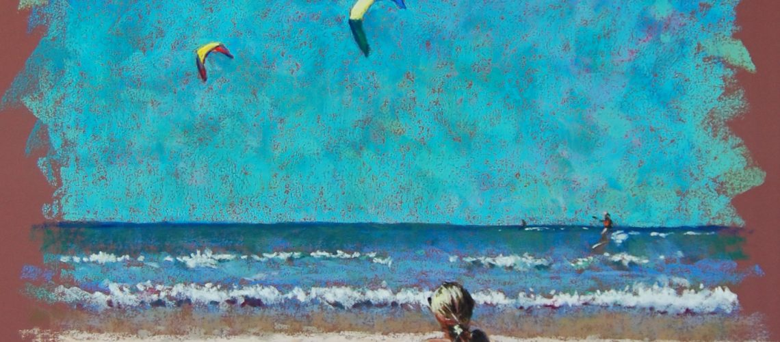 Yearning To Fly  Pastel